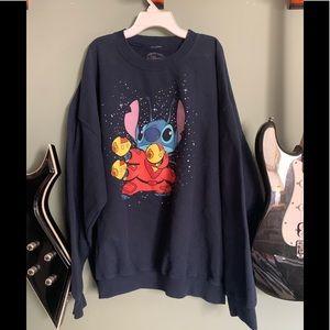 Disney stitch sweatshirt